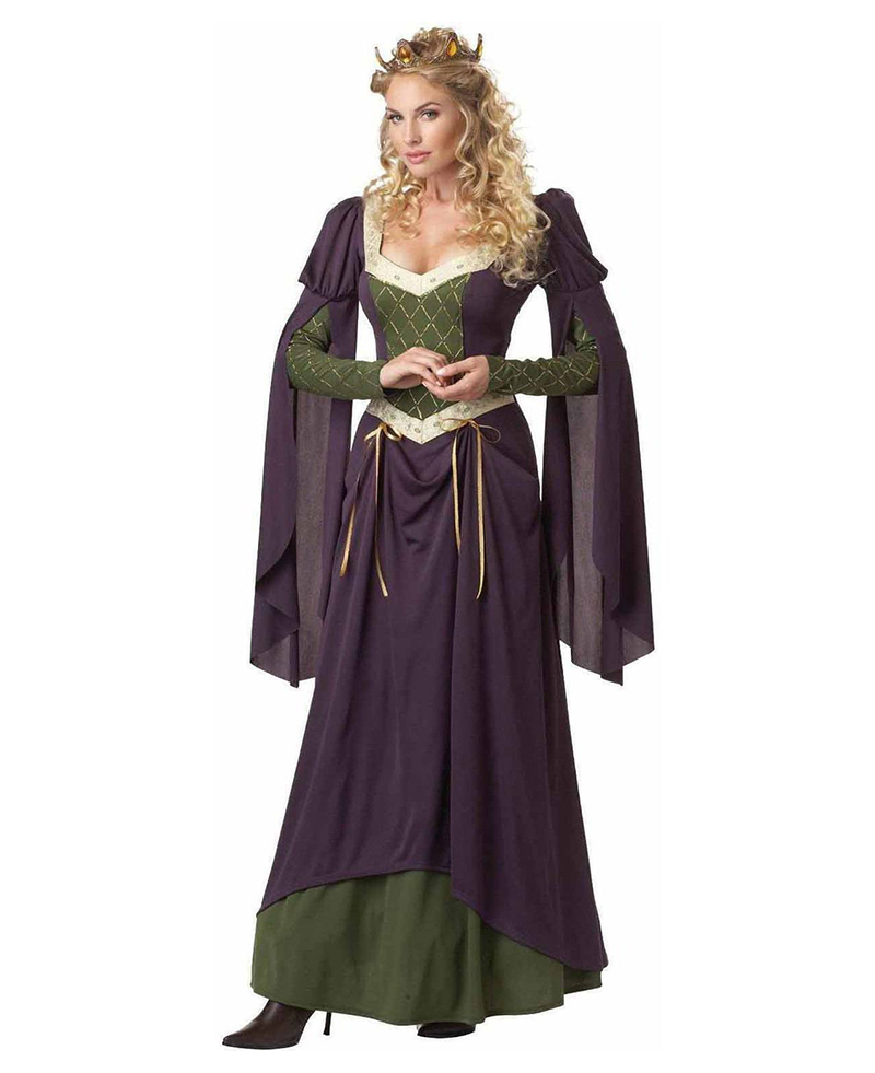 MEDIEVAL -  LADY IN WAITING COSTUME (ADULT)