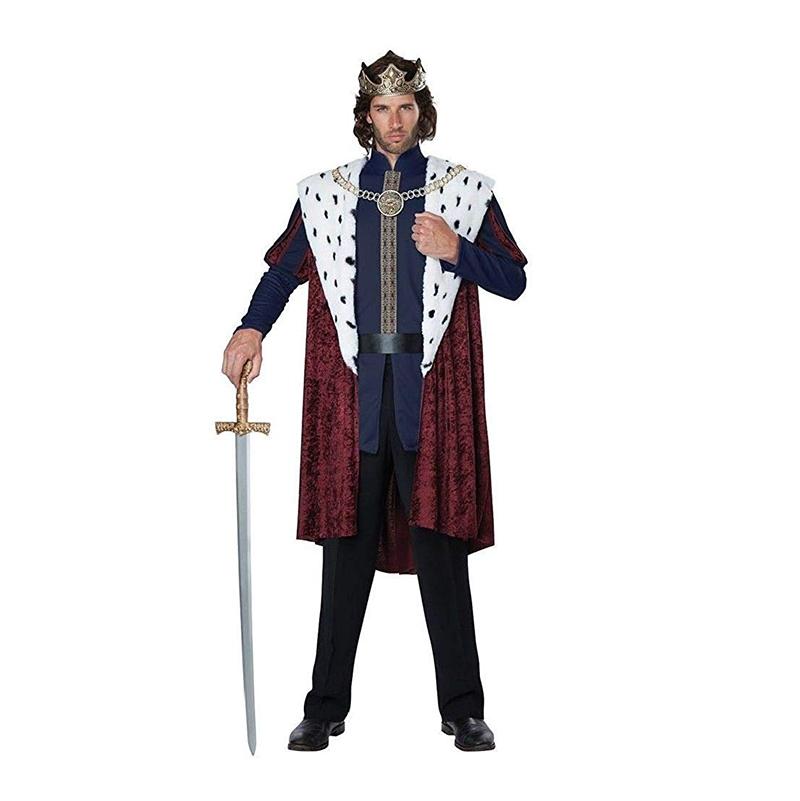 MEDIEVAL -  ROYAL STORYBOOK KING COSTUME (ADULT)