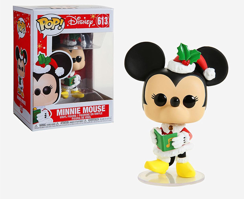 MICKEY MOUSE -  POP! VINYL FIGURE OF MINNIE MOUSE (4 INCH) 613