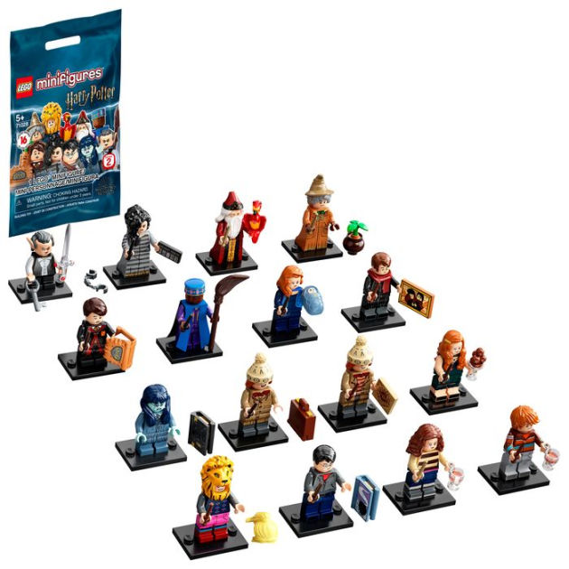 MINIFIGURE -  1 RANDOM LEGO MINIFIGURE - 16 TO COLLECT 2 -  HARRY POTTER 2