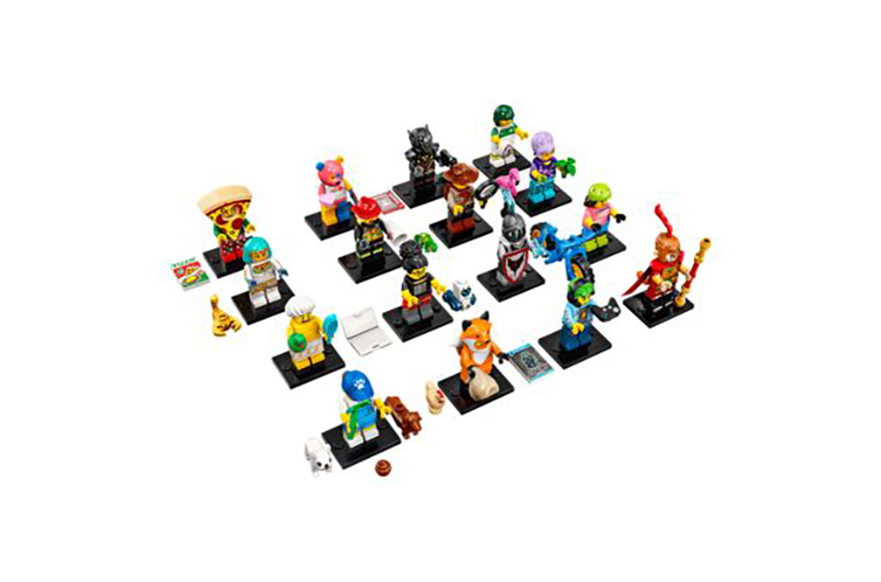 MINIFIGURE -  1 RANDOM LEGO MINIFIGURE - 16 TO COLLECT -  SERIES 19