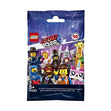 MINIFIGURE -  1 RANDOM LEGO MINIFIGURE - 20 TO COLLECT -  THE LEGO MOVIE 2