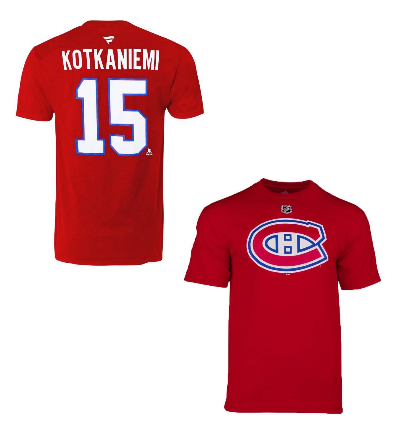 MONTREAL CANADIENS -  JESPERI KOTKANIEMI #15 T-SHIRT - RED