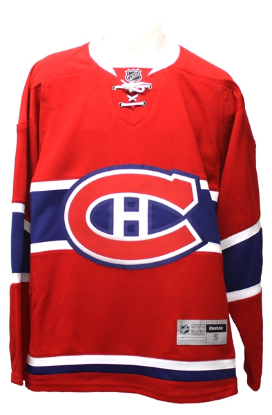hot sale online a27c2 67975 MONTREAL CANADIENS - REEBOK EDGE REPLICA JERSEY - RED (LARGE)
