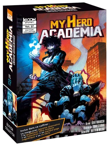 MY HERO ACADEMIA -  COFFRET EDITION COLLECTOR (TOME 27 ET ULTRA ANALYSIS) (FRENCH V.) 27