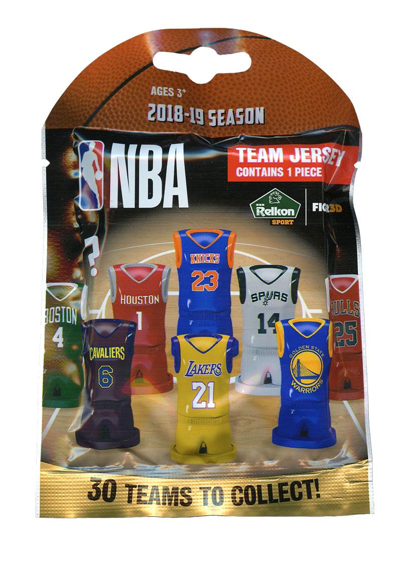 NBA -  NBA TEAM JERSEYS LUCKY BAGS (24CT) 9475