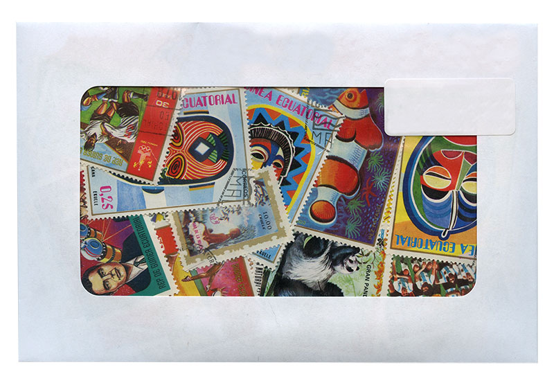 NEW GUINEA -  100 ASSORTED STAMPS - NEW GUINEA