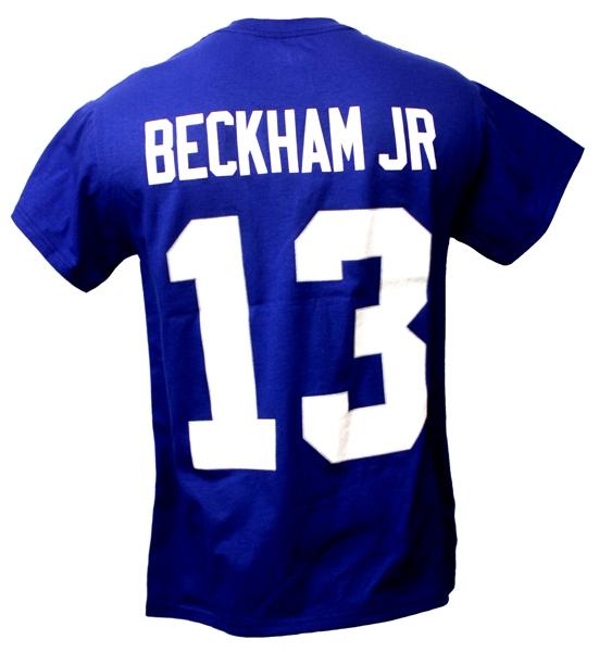 Majestic NFL Jersey Shirt New York Giants #13 Beckham Jr.
