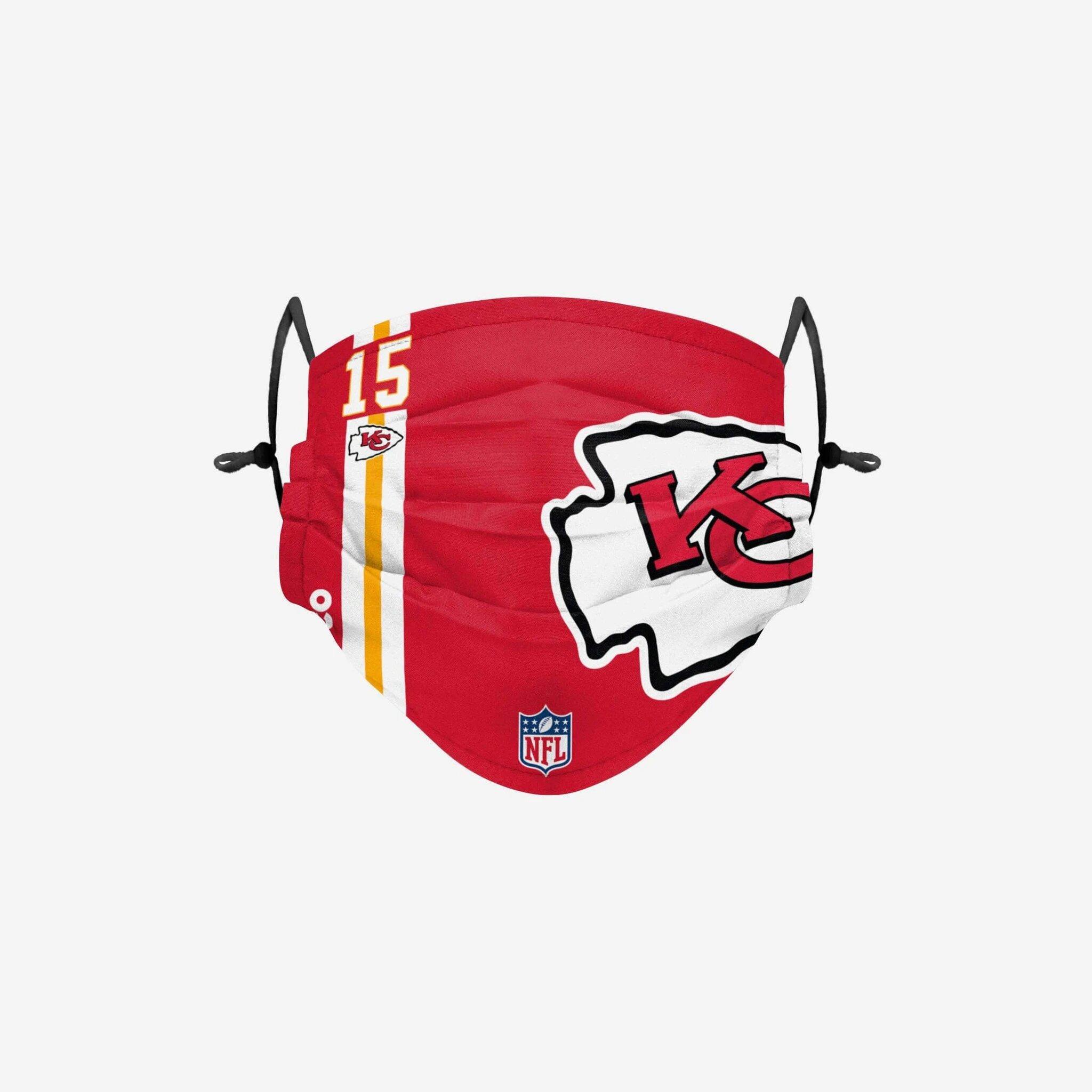 NFL -  PATRICK MAHOMES II - FACE MASK 15 -  KANSAS CITY CHIEFS