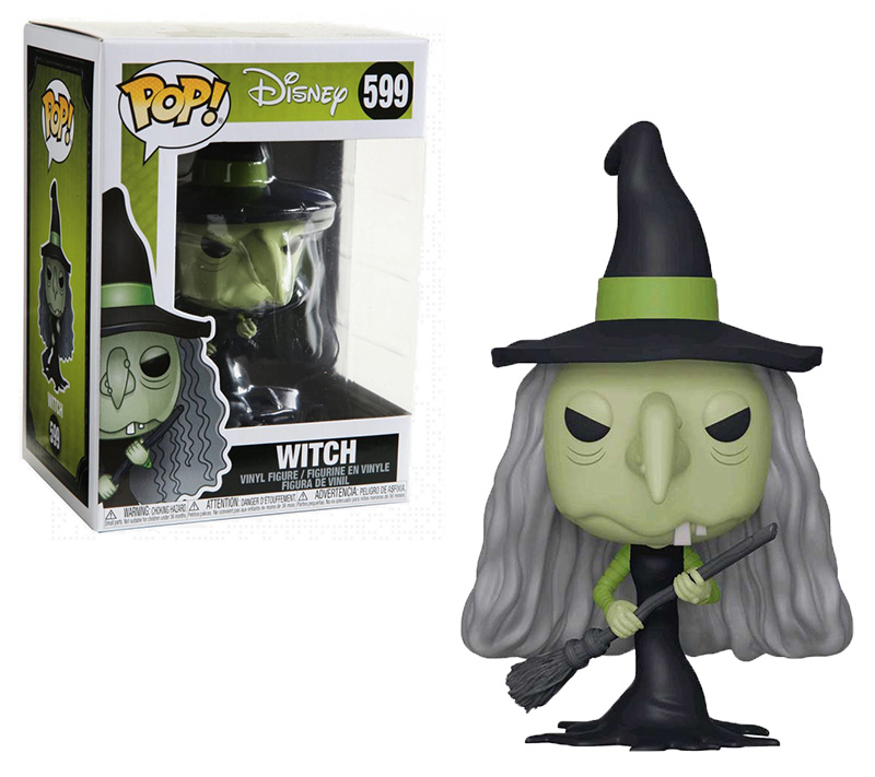 NIGHTMARE BEFORE CHRISTMAS, THE -  POP! VINYL FIGURE OF WITCH (4 INCH) 599