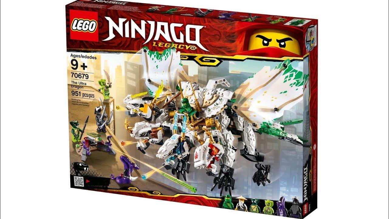 NINJAGO LEGACY -  THE ULTRA DRAGON (951 PIECES) 70679