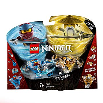 NINJAGO MASTERS OF SPINJITZU -  NYA VS. WU SPINJITZU (227 PIECES) 70663