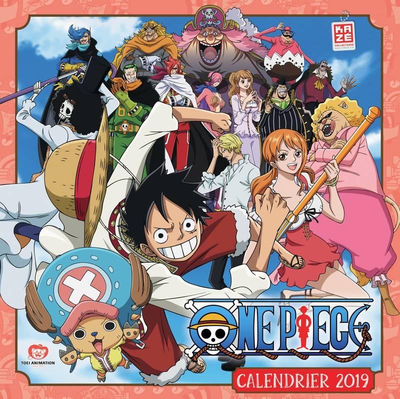 Calendrier One Piece 2022 ONE PIECE   2019 CALENDAR (12 MONTHS) / CALENDARS