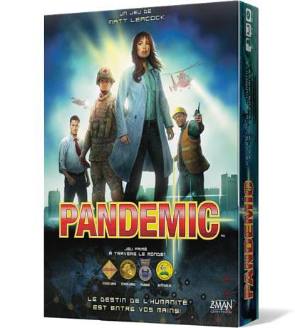 PANDEMIC -  BASE GAME (FRENCH)