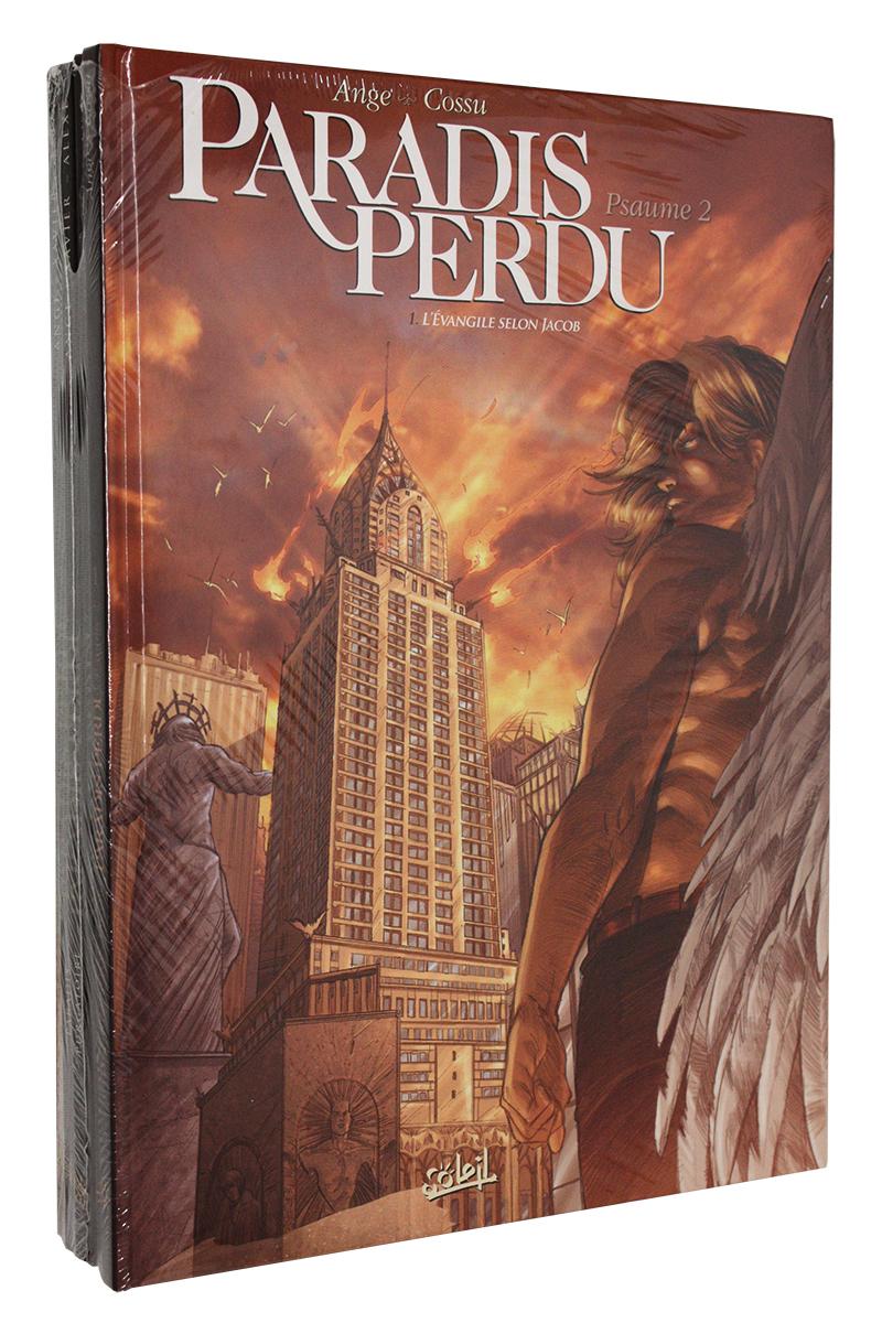 PARADIS PERDU -  ENSEMBLE USAGÉ, TOME 01 À 04 + 01 DU PSAUME 2 -  PSAUME 1