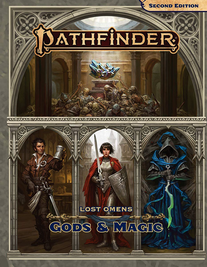 PATHFINDER 2ND -  GODS & MAGIC (ENGLISH) -  LOST OMENS