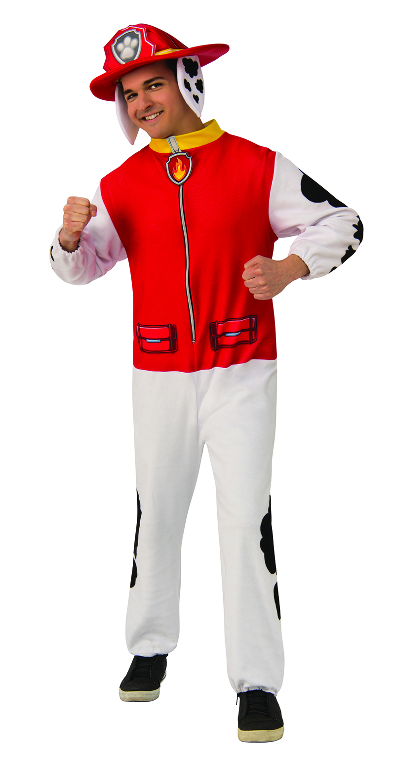 PAW PATROL -  MARSHALL COSTUME (ADULT)