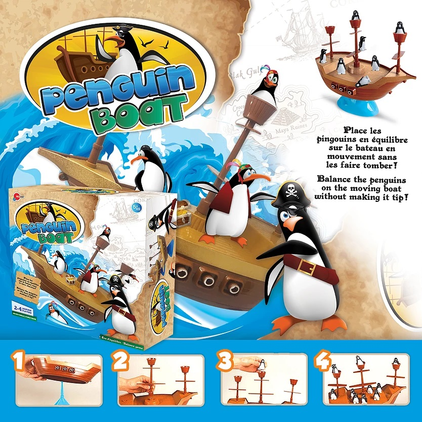 PENGUIN BOAT (FRENCH)