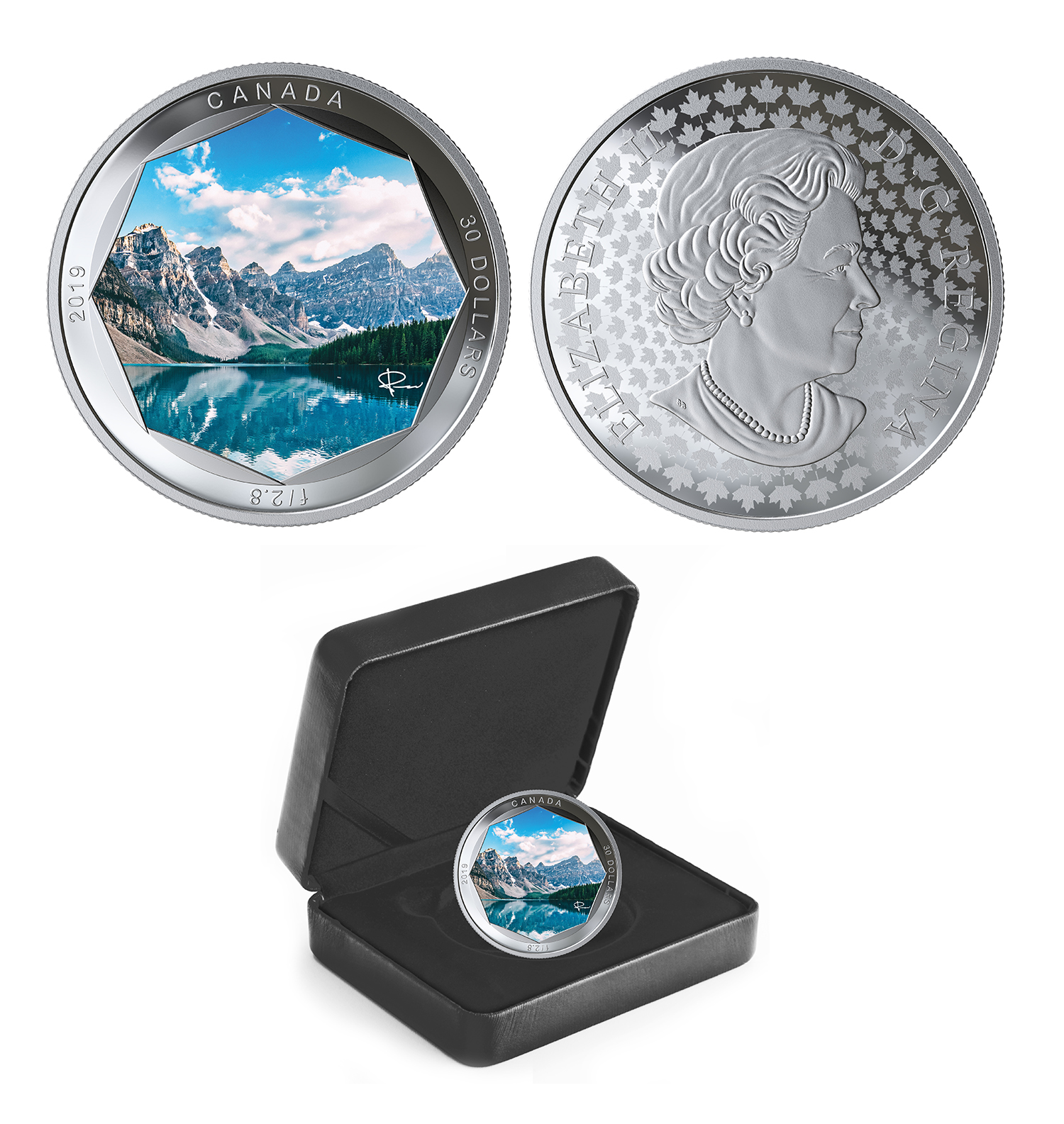 Peter Mckinnon Photo Series Moraine Lake 2019 Canadian Coins 01