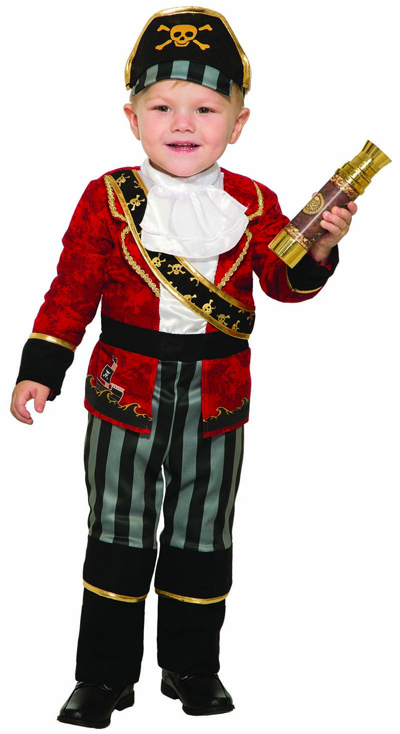 PIRATES -  DELUXE PIRATE COSTUME (CHILD)