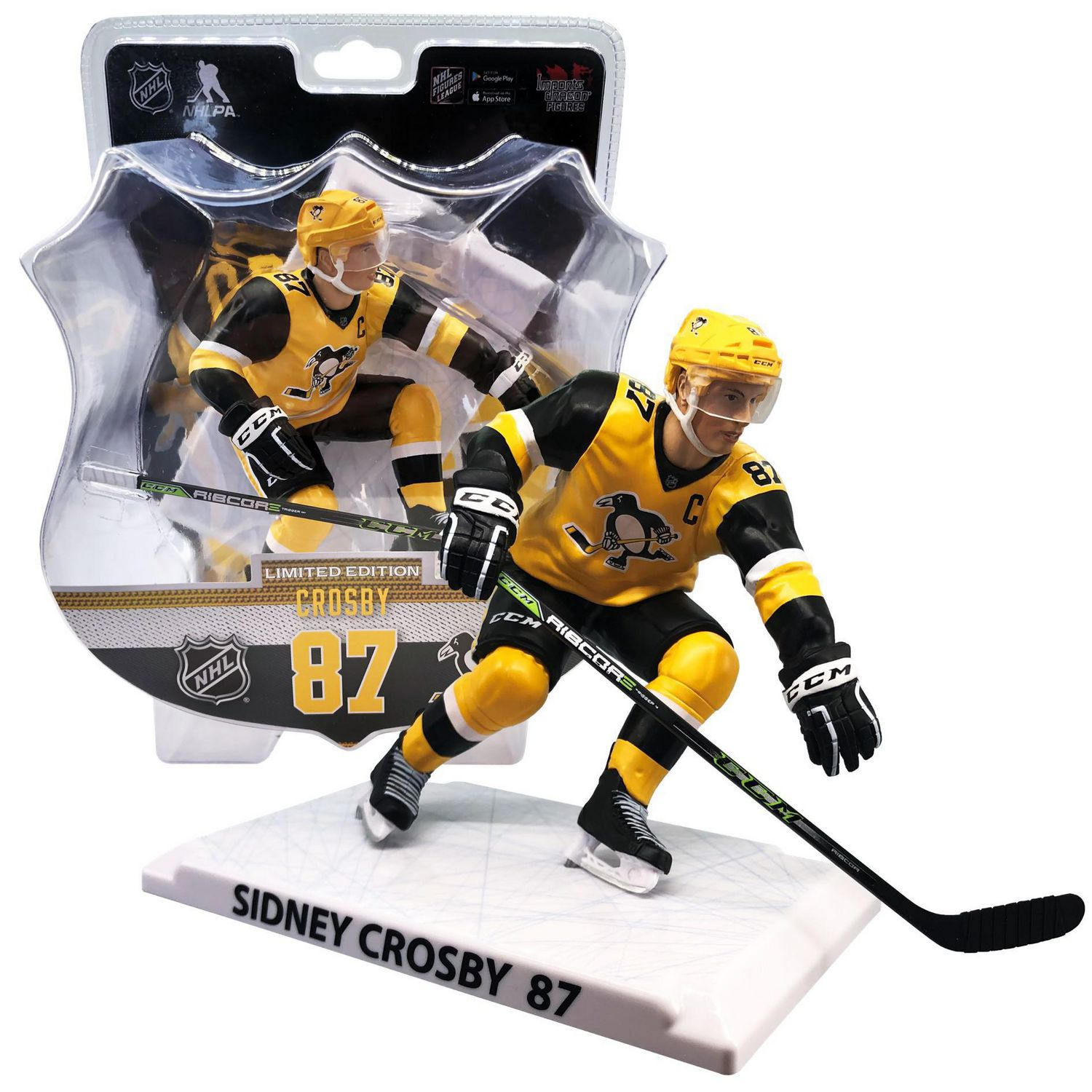 Pittsburgh Penguins 87 Sidney Crosby 6 Limited Edition Nhl Figures Sports Hockey