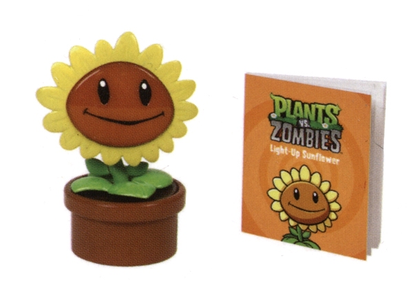 PLANT VS. ZOMBIES -  LIGHT-UP SUNFLOWER (WITH SOUND!) -  MINI-KIT
