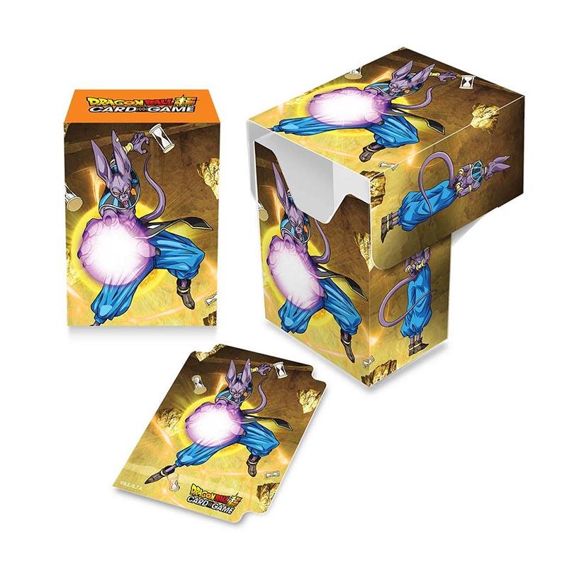 PLASTIC DECK BOX -  DRAGON BALL SUPER - 80 - BEERUS