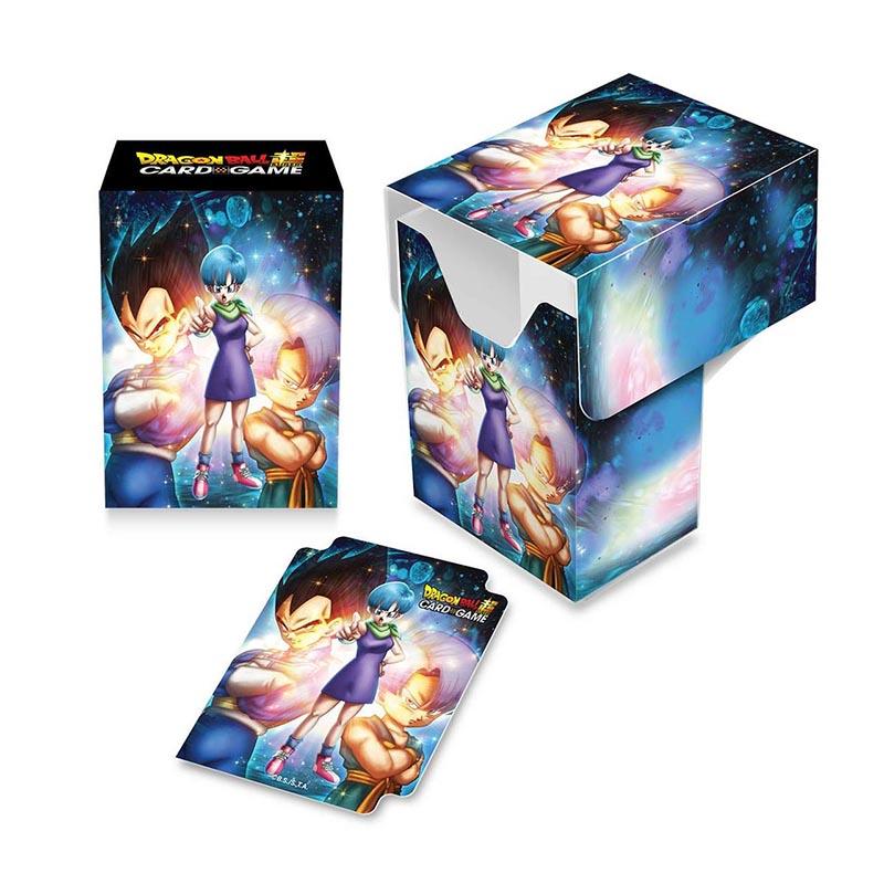 PLASTIC DECK BOX -  DRAGON BALL SUPER - BULMA/VEGETA/TRUNKS (60)