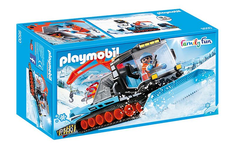 PLAYMOBIL -  SNOW PLOW 9500