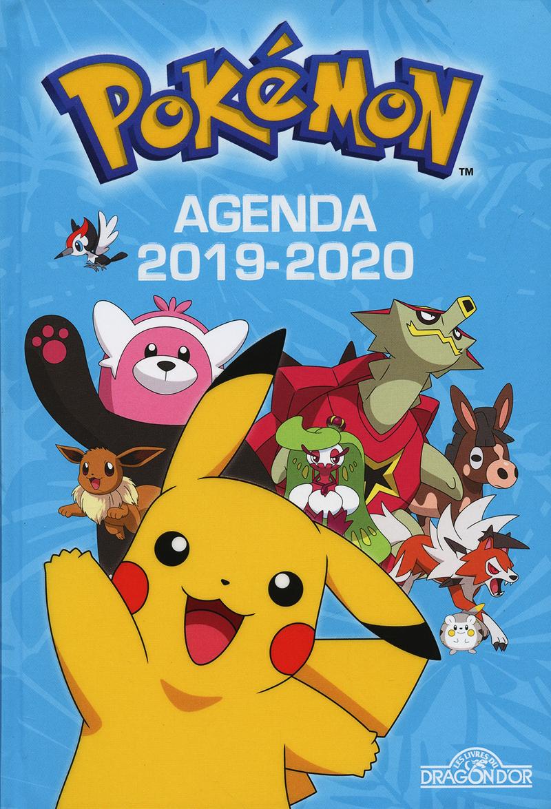 POKEMON -  AGENDA POKEMON 2019-2020