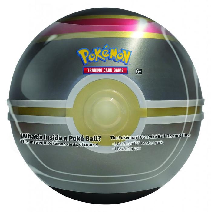 POKEMON -  LUXURY BALL TIN WAVE 02 (3 PACKS + COIN)