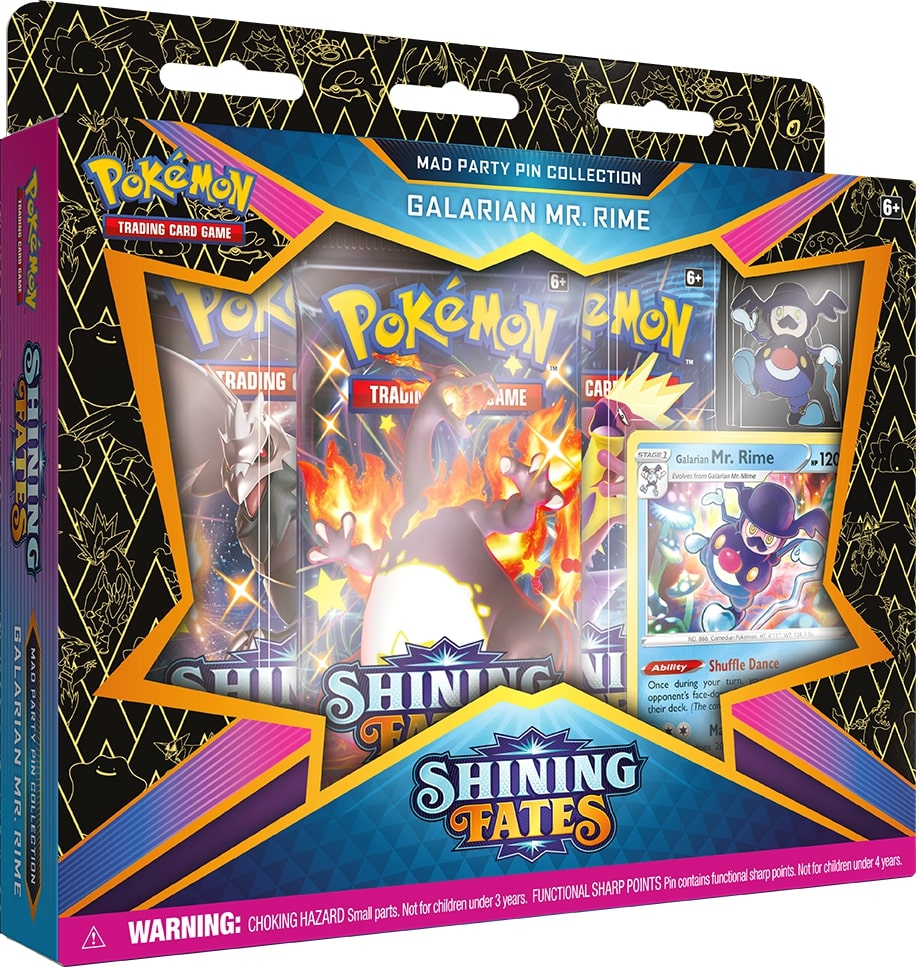 POKEMON -  MAD PARTY PIN COLLECTION - MR. RIME (ENGLISH) **LIMIT 1 PER CUSTOMER** -  SHINING FATES