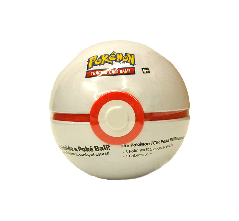 POKEMON -  PREMIER BALL TIN WAVE 03 2019 (3 PACKS + COIN)