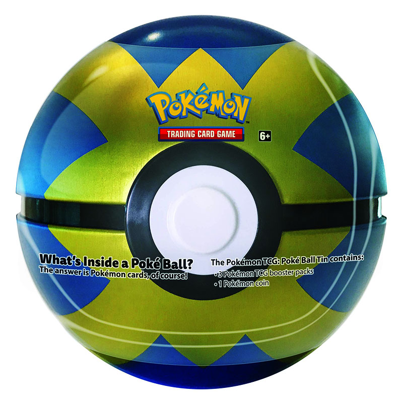 POKEMON -  QUICK BALL TIN WAVE 03 2019 (3 PACKS + COIN)