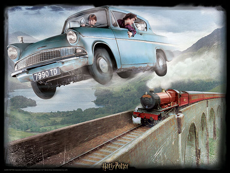 PRIME 3D -  FORD ANGLIA (500 PIECES) -  HARRY POTTER