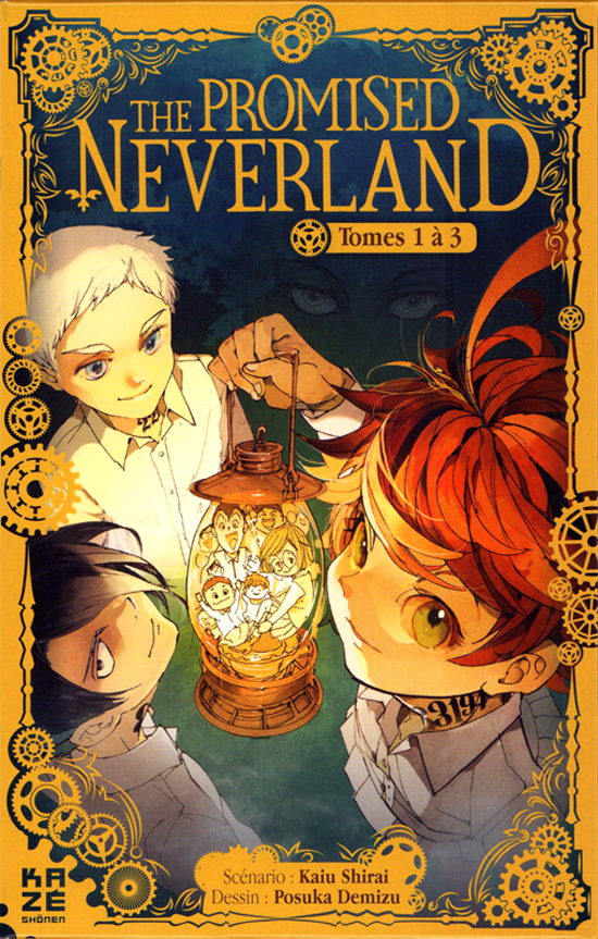 PROMISED NEVERLAND, THE -  COFFRET EN 3 VOLUMES : TOMES 1 À 3 (FRENCH V.)