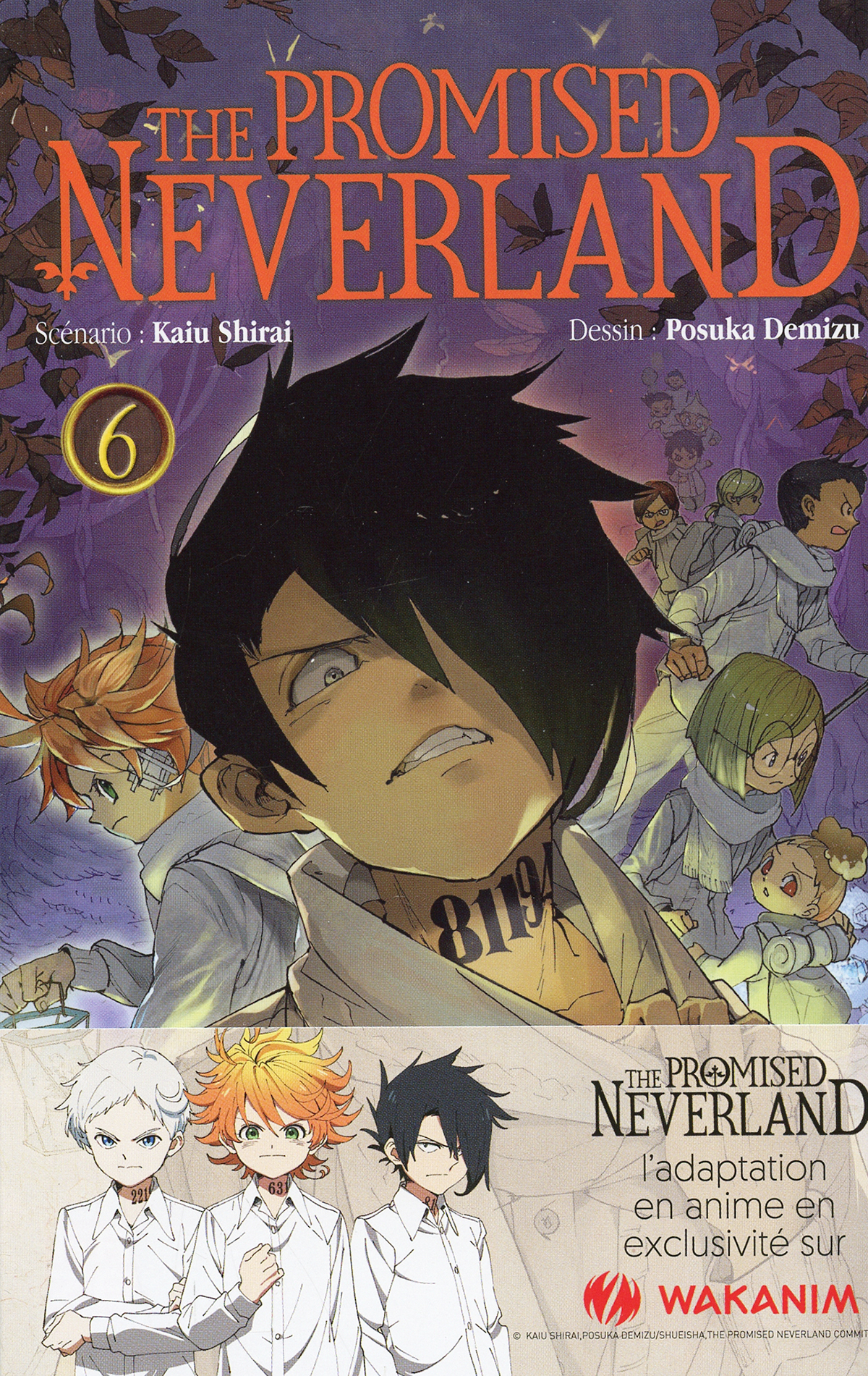 PROMISED NEVERLAND, THE -  (FRENCH V.) 06