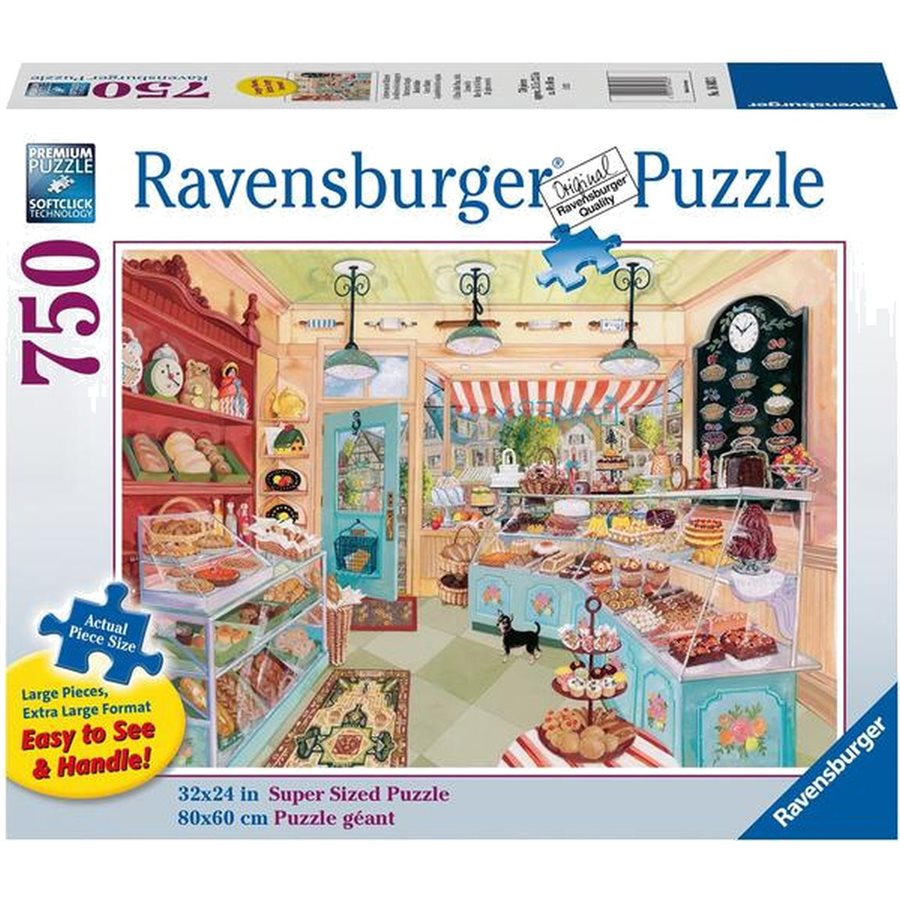 RAVENSBURGER -  CORNER BAKERY (750 PIECES)