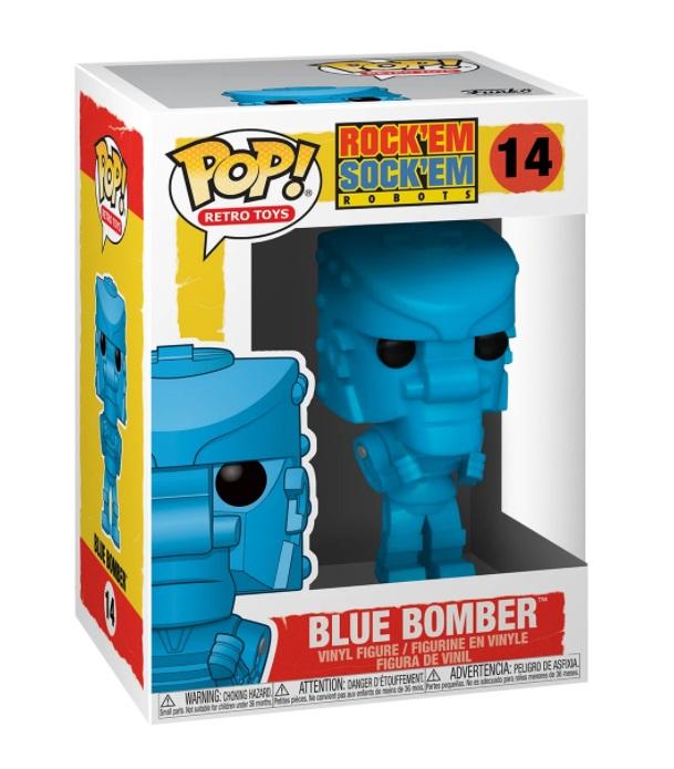 ROCK'EM SOCK'EM -  POP! VINYL FIGURE OF BLUE BOMBER (4 INCH) -  RETRO TOYS 14