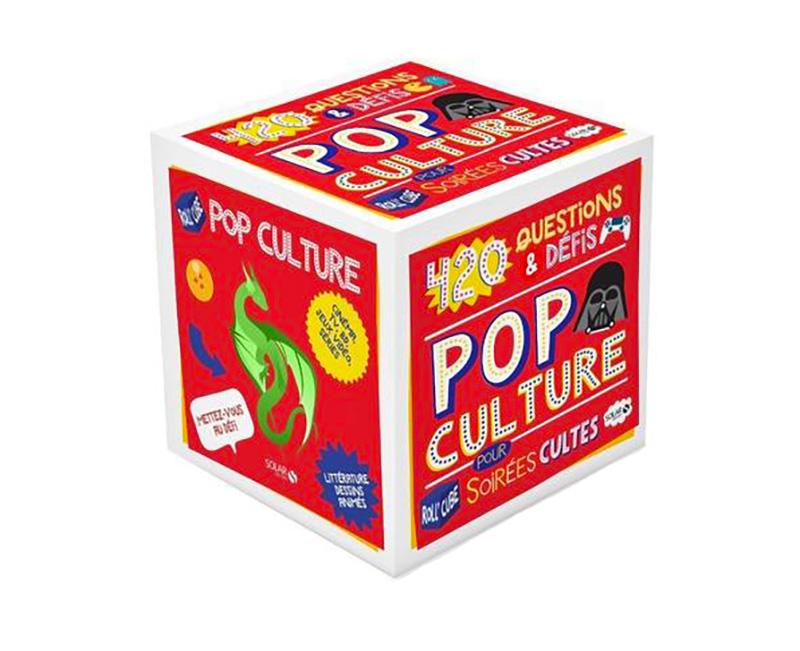 ROLL'CUBE -  420 QUESTIONS & DÉFIS POP CULTURE
