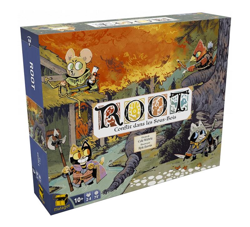 ROOT -  BASE GAME + RIVERFOLK - DAMAGED BOX (FRENCH)