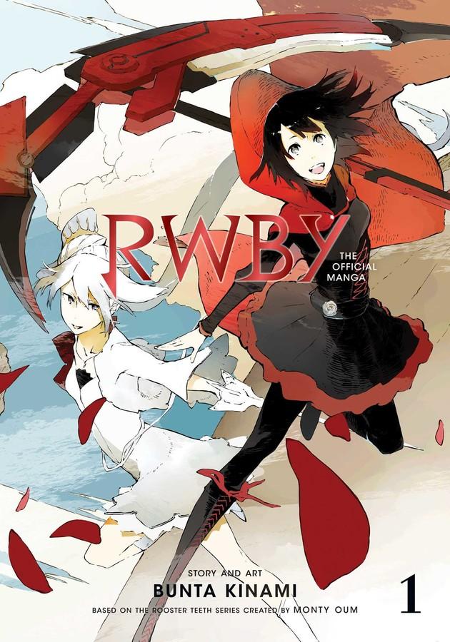 RWBY -  THE OFFICIAL MANGA (ENGLISH V.) 01