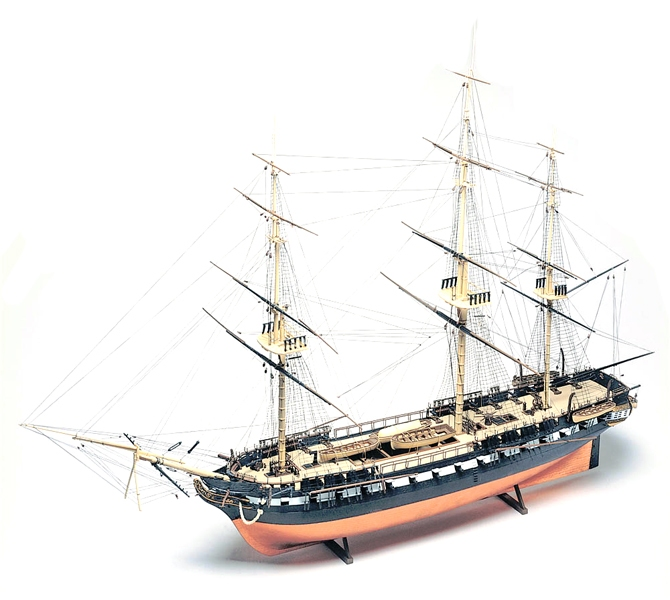 SAIL SHIP -  U.S.S. CONSTITUTION 1/146 (SKIL LEVEL 5 - CHALLENGING)