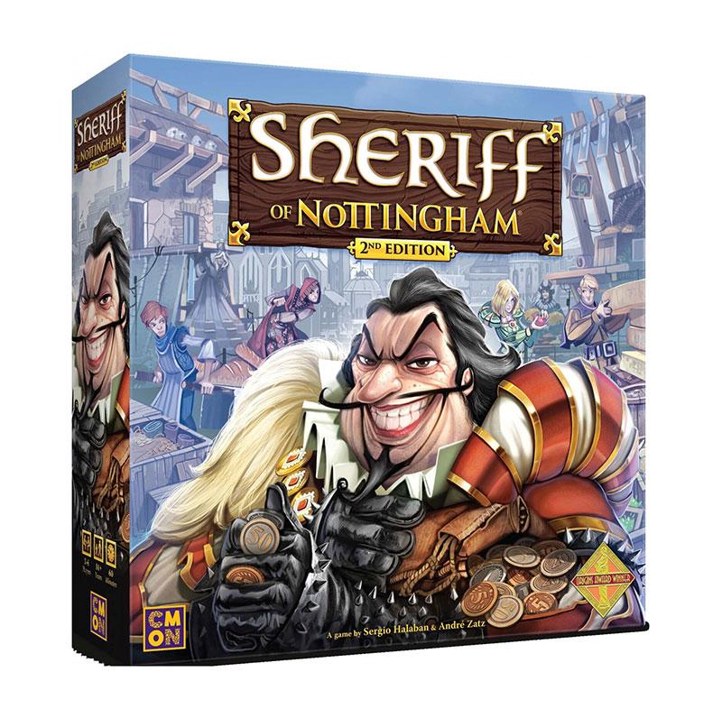SHERIFF OF NOTTINGHAM -  BASE GAME - 2ND EDITION (ENGLISH)