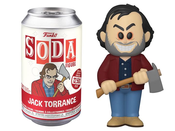 SODA VINYL FIGURE OF JACK TORRANCE (4 INCH) -  FUNKO SODA