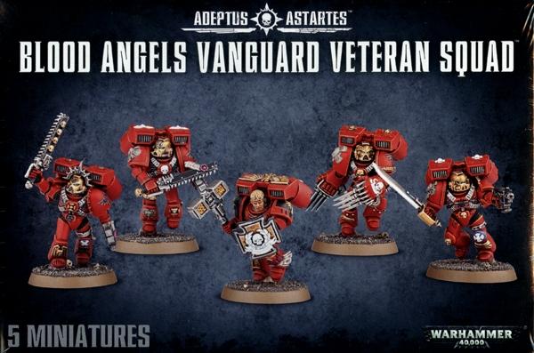 I Space Marine Vanguard Squad HEAD Adeptus Astartes 40K