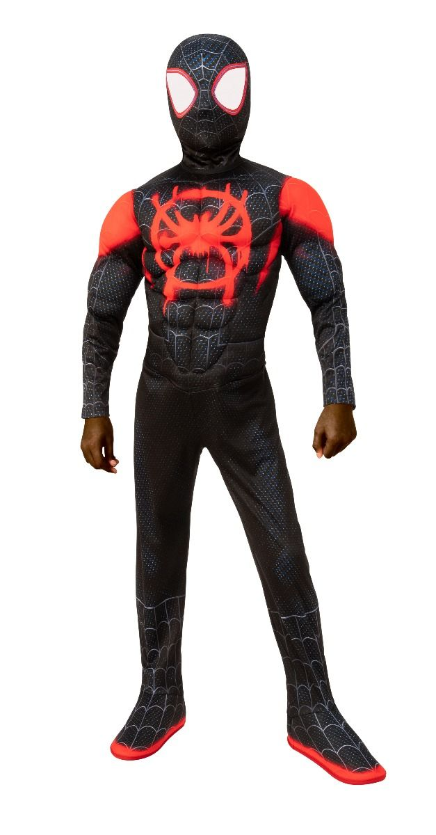 SPIDER-MAN -  MILES MORALES COSTUME (CHILD) -  INTO THE SPIDER-VERSE