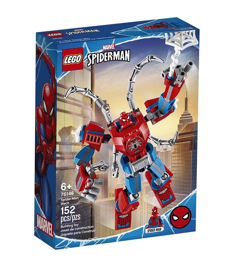 SPIDER-MAN -  SPIDER-MAN MECH (152 PIECES) 76146