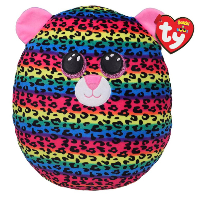 SQUISH A BOOS -  DOTTY THE LEOPARD (12