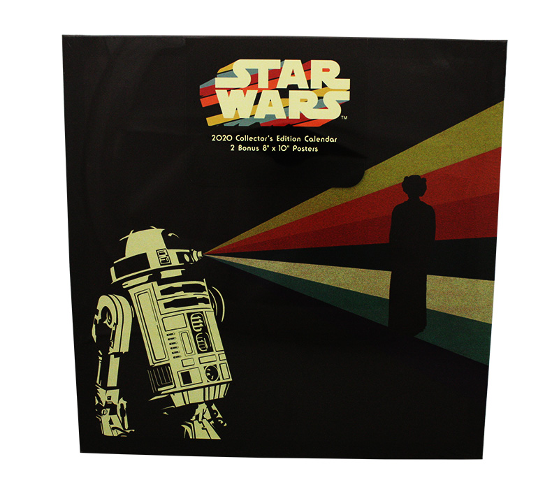 STAR WARS -  2020 COLLECTOR'S EDITION WALL CALENDAR + 2 POSTERS (16 MONTHS)